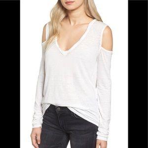 Pam & Gela cold shoulder top